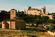 SPAIN, CASTILE, SEGOVIA Knights Templar, Vera Cruz Church