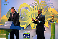 20110730: RIO DE JANEIRO, BRAZIL - Qualification draw for the 2014 World Cup held at the Marina da Gloria in Rio<br />
