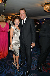 DAVID SEAMAN and FRANKIE POULTNEY at The Butterfly Ball in aid of Caudwell Children held at the Grosvenor House, Park Lane, London on 25th June 2015