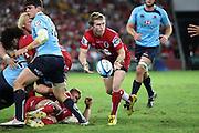 Ben Lucas. Queensland Reds v NSW Waratahs. Investec Super Rugby Round 10 Match, 24 April 2011. Suncorp Stadium, Brisbane, Australia. Reds won 19-15. Photo: Clay Cross / photosport.co.nz