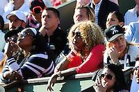 clan Serena WILLIAMS  - 04.06.2015 - Jour 12 - Roland Garros 2015<br />Photo : Nolwenn Le Gouic / Icon Sport