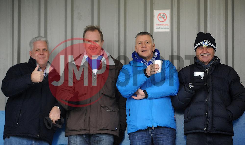 Fans - Photo mandatory by-line: Neil Brookman/JMP - Mobile: 07966 386802 - 04/01/2015 - SPORT - football - Nuneaton - James Parnell Stadium - Nuneaton Town v Bristol Rovers - Vanarama Conference