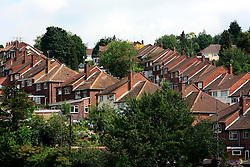 UK ENGLAND HIGH WYCOMBE 15AUG06 - General view of urban housing in Totteridge, High Wycombe, where Police are investigating an alleged bomb plot...jre/Photo by Jiri Rezac..© Jiri Rezac 2006..Contact: +44 (0) 7050 110 417.Mobile:  +44 (0) 7801 337 683.Office:  +44 (0) 20 8968 9635..Email:   jiri@jirirezac.com.Web:    www.jirirezac.com..© All images Jiri Rezac 2006 - All rights reserved.