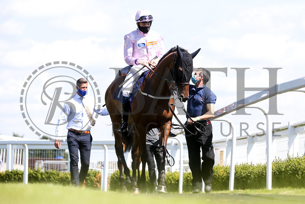 Trixie Waterbury ridden by Callum Shepherd trained by Harry Dunlop - Mandatory by-line: Robbie Stephenson/JMP - 22/07/2020 - HORSE RACING - Bath Racecoure - Bath, England - Bath Races