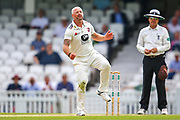 Darren Stevens of Kent bowling during the Specsavers County Champ Div 1 match between Surrey County Cricket Club and Kent County Cricket Club at the Kia Oval, Kennington, United Kingdom on 10 July 2019.