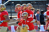 7-minute span is the difference as Stony Brook overwhelms VMI, 42-14