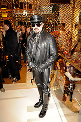 Architect PETER MARINO at a party to celebrate the opening of the Louis Vuitton Bond Street Maison, New Bond Street, London on 25th May 2010.