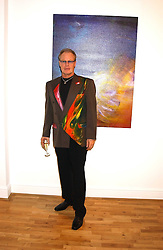 Artist JEFFREY KROLL at an exhibition of art by Jeffrey Kroll entitled Imirage held at the Arndean Gallery, Cork Street, London on 19th October 2005.<br />