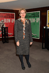 "CAROLINE MICHEL at a private screening Of ""The Gun, The Cake and The Butterfly"" hosted by Amanda Eliasch at The Bulgari Hotel, 171 Knightsbridge, London on 24th March 2014."