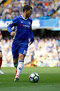 Chelsea Midfielder Eden Hazard (10) during the Premier League match between Chelsea and Sunderland at Stamford Bridge, London, England on 21 May 2017. Photo by Andy Walter.