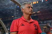 Manchester United Manager Jose Mourinho during the International Champions Cup match between Manchester United and Real Madrid at the Hard Rock Stadium, Miami, United States on 31 July 2018. Picture by Phil Duncan.