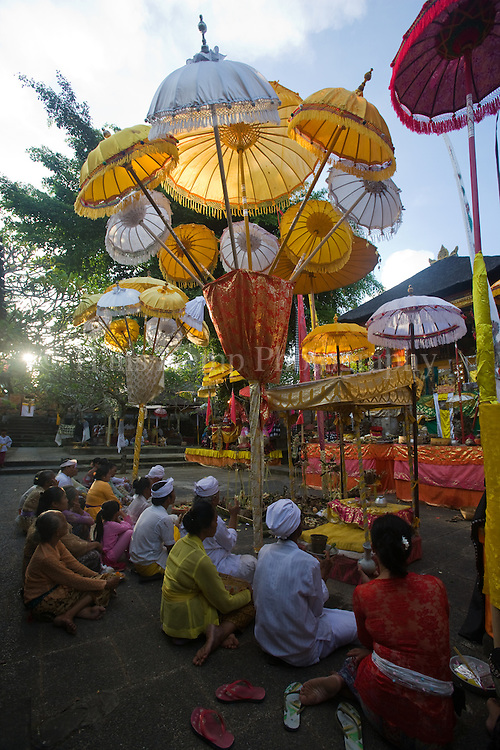 The Odalan (Temple Anniversary) of the Pura Taman Pule Temple in Mas, Bali