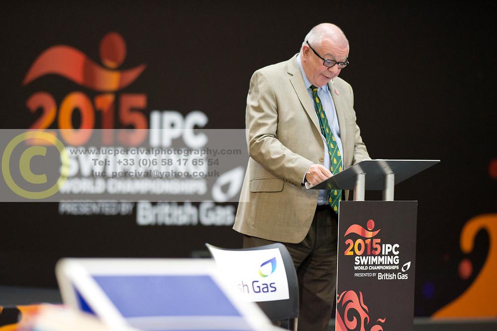 VIP  at 2015 IPC Swimming World Championships -  Opening Ceremony