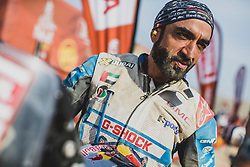 Mohammed Balooshi (ARE) of  Duust Rally at the finish line after the last stage of Rally Dakar 2019 from Pisco to Lima, Peru on January 17, 2019. // Flavien Duhamel/Red Bull Content Pool // AP-1Y5HFV52D2111 // Usage for editorial use only // Please go to www.redbullcontentpool.com for further information. //