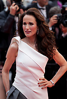 Actress Andie MacDowell at the The Best Years of a Life (Les Plus Belles Années D'une Vie) gala screening at the 72nd Cannes Film Festival Saturday 18th May 2019, Cannes, France. Photo credit: Doreen Kennedy