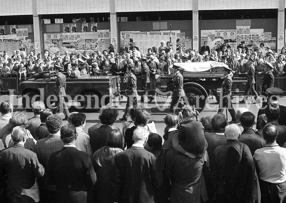Funeral Of Eamon De Valera | Irish Independent Archives