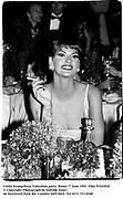 Linda Evangelista. Valentino party. Rome. 7 June 1991. Film 91543f10<br />© Copyright Photograph by Dafydd Jones<br />66 Stockwell Park Rd. London SW9 0DA<br />Tel 0171 733 0108