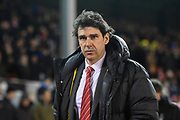 Nottingham Forest manager Aitor Karanka during the EFL Sky Bet Championship match between Nottingham Forest and Reading at the City Ground, Nottingham, England on 20 February 2018. Picture by Jon Hobley.