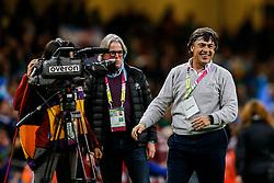 Argentina Head Coach Daniel Hourcade celebrates after Argentina win the match - Mandatory byline: Rogan Thomson/JMP - 07966 386802 - 18/10/2015 - RUGBY UNION - Millennium Stadium - Cardiff, Wales - Ireland v Argentina - Rugby World Cup 2015 Quarter Finals.
