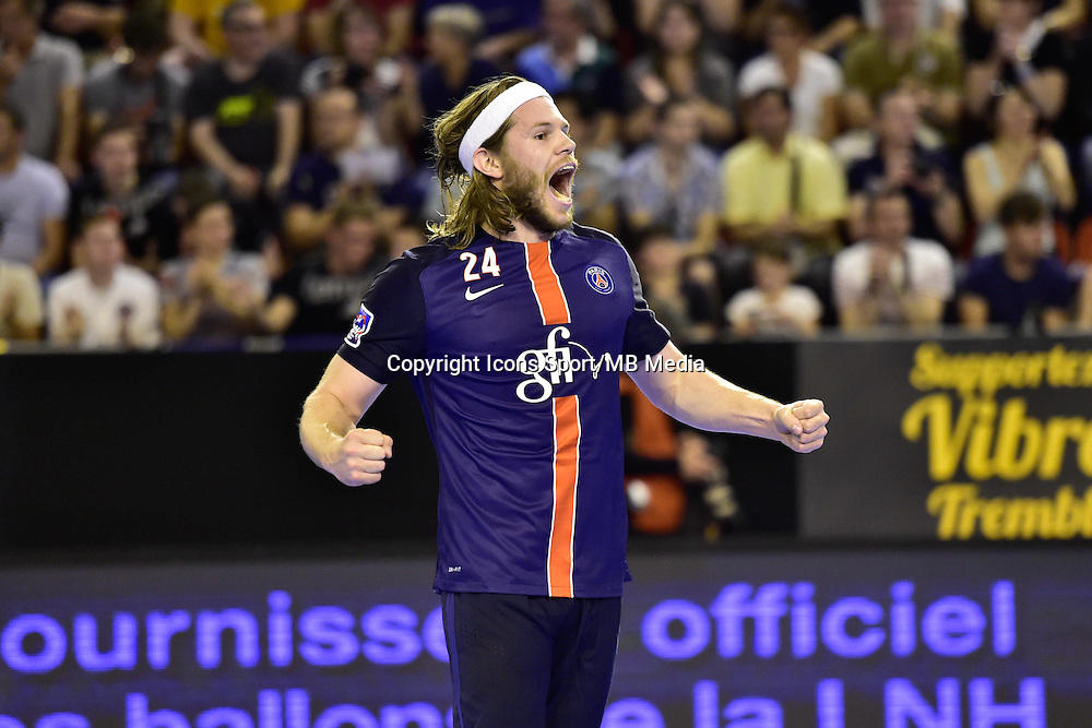 Joie Mikkel HANSEN - 04.06.2015 - Tremblay en France / Paris Saint Germain - 26eme journee de Division 1  -Beauvais<br />