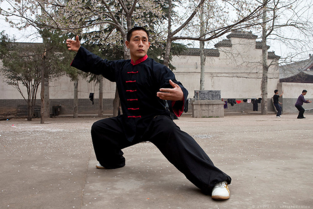 Master Chen Ziqiang, Vice president and chief coach of the Chenjiagou Taijiquan school. He is the 20th generation lineage holder of Chen family Taijiquan.