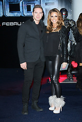 © Licensed to London News Pictures. Katie Price and Kieran Hayler at the RoboCop World film premiere at BFI IMAX, London on 05 February 2014. Katie Price today announced on Twitter that she is to divorce Kieran Hayler, her third husband.Photo credit: Richard Goldschmidt/LNP