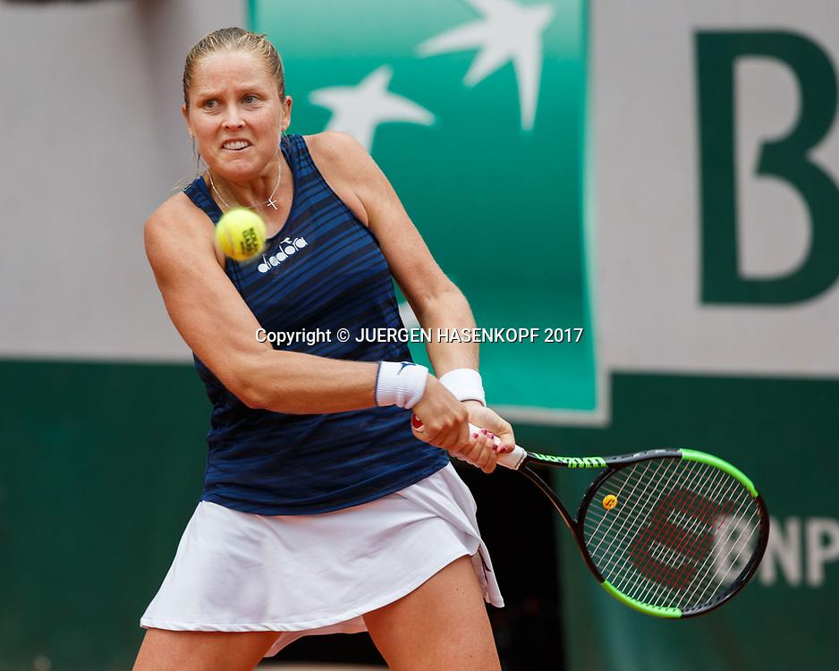 SHELBY ROGERS (USA)<br /> <br /> Tennis - French Open 2017 - Grand Slam / ATP / WTA / ITF -  Roland Garros - Paris -  - France  - 2 June 2017.