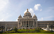 KADIRI, INDIA - 23rd October 2019 - Vidhana Soudha building, Bangalore Bengaluru, Karnataka, India, South India