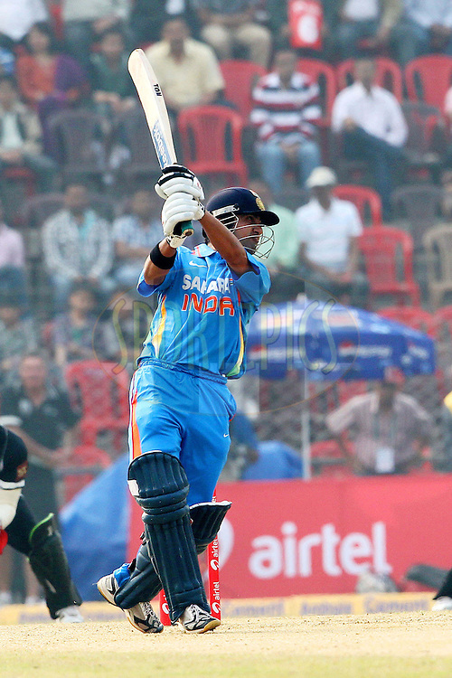 Gautam Gumbhir of India  during the 1st ODI (One Day International ) between India and New Zealand held at the Nehru Cricket Stadium in Guwahati, Assam, India on the 28th  November 2010..Photo by Ron Gaunt/BCCI/SPORTZPICS