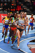 Konstanze Klosterhalfen  (GER) places seventh in 8:51.79 in the women's 3,000m during the IAAF World Indoor Championships at Arena Birmingham in Birmingham, United Kingdom on Thursday, Mar 1, 2018. (Steve Flynn/Image of Sport)