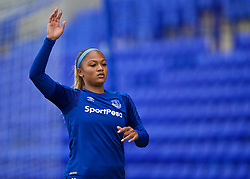 BIRKENHEAD, ENGLAND - Sunday, April 29, 2018: Everton's Taylor Hinds during the FA Women's Super League 1 match between Liverpool FC Ladies and Everton FC Ladies at Prenton Park. (Pic by David Rawcliffe/Propaganda)
