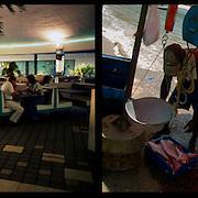 DAILY VENEZUELA II / VENEZUELA COTIDIANA II<br /> Photography by Aaron Sosa <br /> <br /> Left: El Bohio, Aragua State - Venezuela 2001 / El Bohio, Estado Aragua - Venezuela 2001<br /> <br /> Right: Spring of Rio Caribe, Sucre State - Venezuela 2005 / Muelle de Rio Caribe, Estado Sucre - Venezuela 2001<br /> <br /> (Copyright © Aaron Sosa)