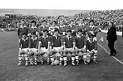 26.09.1971 Football All Ireland  Minor Final Mayo Vs Cork.Cork Team