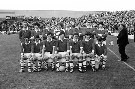 26.09.1971 Football All Ireland  Minor Final Mayo Vs Cork.Cork Team