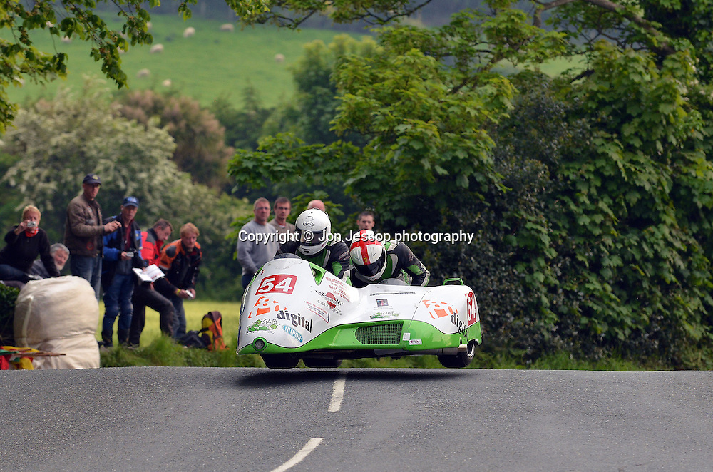 #54 Anthony Eades / Iain Greensmith  Windle Suzuki Green Ant Racing Team