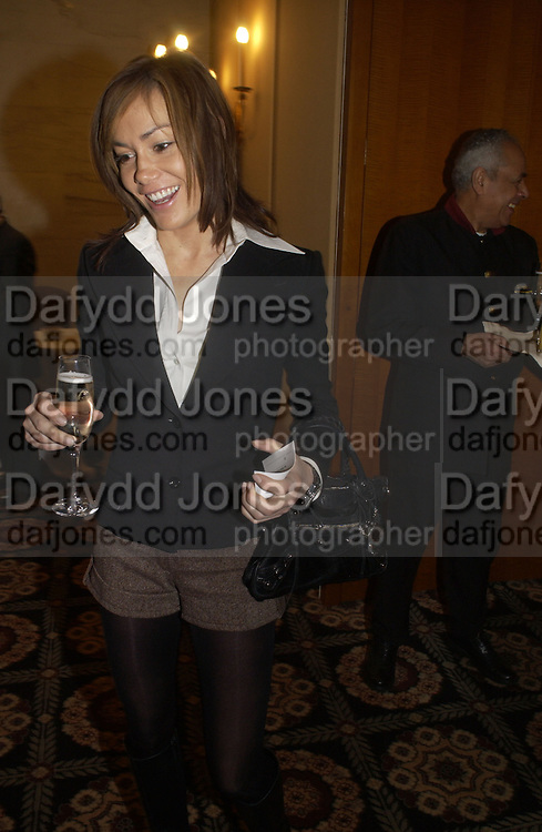 Tara Palmer-Tompkinson, The South Bank Show Awards. The10th annual awards rewarding excellence in arts, The Savoy , London.January 27 2006. ONE TIME USE ONLY - DO NOT ARCHIVE  © Copyright Photograph by Dafydd Jones 66 Stockwell Park Rd. London SW9 0DA Tel 020 7733 0108 www.dafjones.com