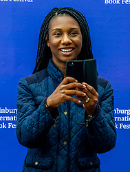 Pictured: Whitney Richardson<br /> <br /> The New York Times sent journalist Whitney Richardson and photographer Josh Haner to see how the Book Festival was using their sponsorship money<br /> <br /> Ger Harley | EEm 11 August 2019