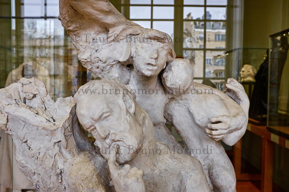 France, Paris (07), musée Rodin, 77 rue de Varenne // France, Paris, Rodin museum