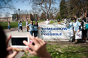 Tomorrow Made Possible gives students, faculty and staff a chance to recognize GU donors