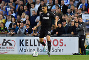 Leon Balogun (14) of Brighton and Hove Albion during the EFL Cup match between Bristol Rovers and Brighton and Hove Albion at the Memorial Stadium, Bristol, England on 27 August 2019.