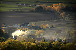 October 31, 2018 - Mnichovo Hradiste, Czech Republic - Autumn weather during autumn colors in Czech Paradise in Czech Republic. (Credit Image: © Slavek Ruta/ZUMA Wire)
