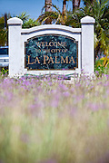 City Of La Palma Monument