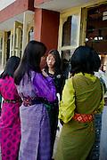 Girls<br /> <br /> at a school in Thimphu, Bhutan