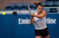 August 21, 2019, New York, NEW YORK, USA: Aryna Sabalenka during practice at the 2019 US Open Grand Slam tennis tournament (Credit Image: © AFP7 via ZUMA Wire)