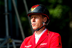 AHLMANN Christian (GER), CLINTREXO Z<br /> Rotterdam - Europameisterschaft Dressur, Springen und Para-Dressur 2019<br /> Impressionen am Rande<br /> Longines FEI Jumping European Championship part 2 - team 2nd and final round<br /> Finale Teamwertung 2. Runde<br /> 23. August 2019<br /> © www.sportfotos-lafrentz.de/Sharon Vandeput