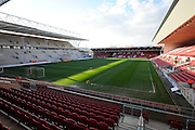 View of Ashton Gate before the Sky Bet Championship match between Bristol City and Rotherham United at Ashton Gate, Bristol, England on 5 April 2016. Photo by Graham Hunt.