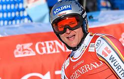 26.10.2019, Kandahar, Garmisch, GER, FIS Weltcup Ski Alpin, Abfahrt, Herren, im Bild Thomas Dressen (GER) // Thomas Dressen of Germany reacts after his run in the men's downhill of FIS Ski Alpine World Cup at the Kandahar in Garmisch, Germany on 2019/10/26. EXPA Pictures © 2020, PhotoCredit: EXPA/ Erich Spiess