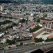 NK traplopen 1997 Rotterdam finish, overzicht