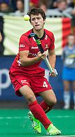 ANTWERP -   Arthur van Doren  from  Belgium during  the match of the men  Belgium v China.  WSP COPYRIGHT KOEN SUYK