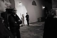 ITALY, Fondi:  Meeting on legality in Fondi on February 5, 2010. .©Christian Minelli